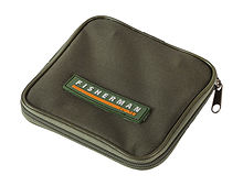 Wallet for leads and baits,  package of 13x13 cm