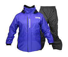 Suit rain SUZUKI MARINE (Jacket & Pants) L