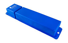 Angular mooring fender 760x155mm, Blue