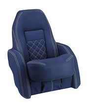 ROYALITA  Bucket Seat, Dark Blue