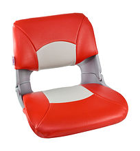 Seat folding soft SKIPPER, grey/red