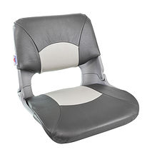 Seat folding soft SKIPPER, grey/dark grey