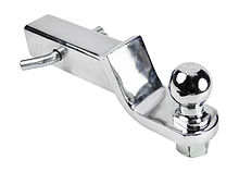 Ball Mount, Lowering 50mm, Chrome-plated
