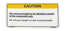 Mark, reverse bucket