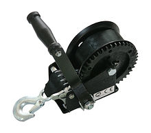 Manual trailer winch 1200 lbs (545 kg)