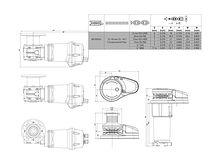 Anchor winche Lewmar VX1, chain 6/7 mm