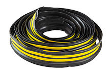 Boat Rubbing Strake 65 mm Yellow/Black