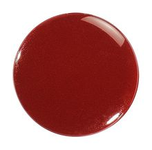 Front part for button CAF-316, claret , stainless (Pack 10pcs.)