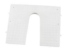 Transom plate 420x340mm, plastic