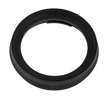Pad device 75 mm, round, black