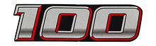Front Emblem  Suzuki DF100A