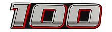 Rear Emblem  Suzuki DF100A