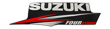 Cover engine sticker Suzuki DF40A-60A (Suzuki), right