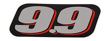 Cover engine sticker  for Suzuki DF9.9A/B (9.9), rear