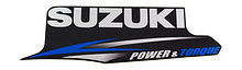 Engine Cover Stripe Port Suzuki DT9.9A-15A