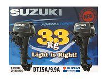 Suzuki DT 9.9-15 stickers