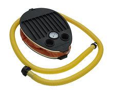 Foot pump with pressure gauge, 6,5L