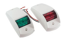 Navigation Side Led Lights, White housing