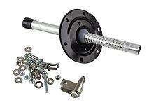 Steering cable bracket, adjustable