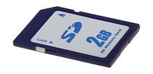 2GB memory card with sea map BlueChart G2 Vision