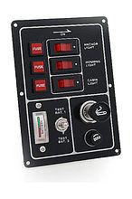 Switch Panel, 3 Switch, 12V