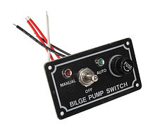 Panel Bilge Pump Switch, auto-off-manual