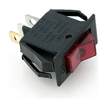 Rocker Switch ON-OFF, 12V/15A, 3P