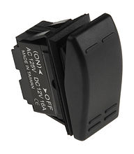Contura Switch (ON)-OFF 12V/16A 2P
