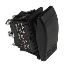 Contura Switch ON-ON 16A/12V, 6P