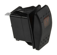 Contura Switch (ON)-ON 12V/20A, 4P, LED