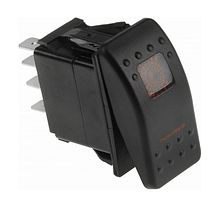Contura Switch ON-ON 12V/20A, 7P, LED