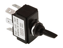 Toggle Switch (ON)-OFF-(ON) 12V/15A, 6 P