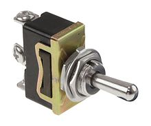 Toggle Switch (ON)-OFF-ON 15A, 12V, 3 P