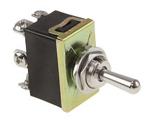 Toggle Switch ON-OFF-ON 15A/12V, 6P