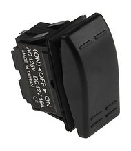 Contura Switch (ON)-OFF-ON 16A/12V,3P