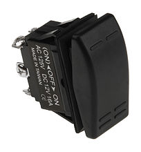 Contura Switch (ON)-OFF-ON 16A/12V, 6P