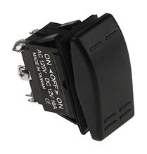 Contura Switch ON-OFF-ON 16A/12V, 6P