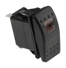 Contura Switch (ON)-OFF-(ON) 12V/20A, 4P, LED