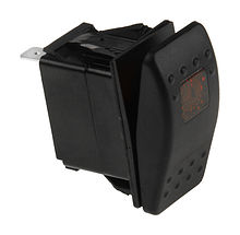 Contura Switch (ON)-OFF-ON 12V/20A, 4P, LED
