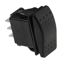 Three-position switch (ON)-OFF-(ON) 12V/20A DIN 6P without detent