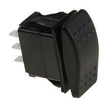 Three-position switch ON-OFF-ON 12V/20A,6P
