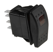 Contura Switch (ON)-OFF-(ON) 12V/20A, 7P, LED