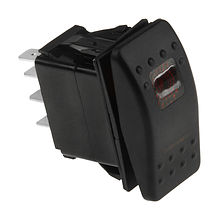 Contura Switch (ON)-OFF-ON 12V/20A, 7P LED