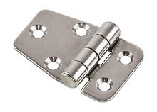 Stainless steel hinge 53x37x2 mm