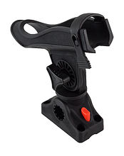 Fishing rod holder black