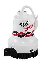 TMC Bilge Pump 2000 GPH, 12V
