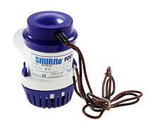 Shurflo Bilge Pump 1000 GPH, 12V