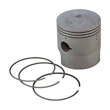 Piston with rings for Suzuki DT150 (0.25) right