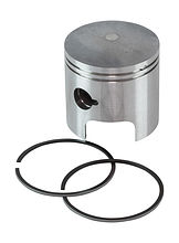 Piston with rings for Suzuki DT25-30 (0.25) 2 cylinder