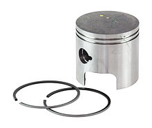 Piston with rings for Suzuki DT25/30 (0.50),  2012-2014 year
